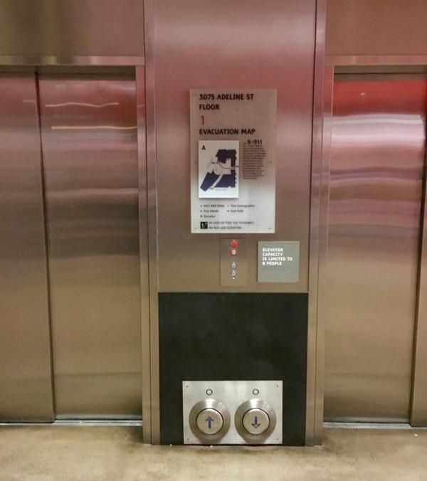 Кнопки для лифта
