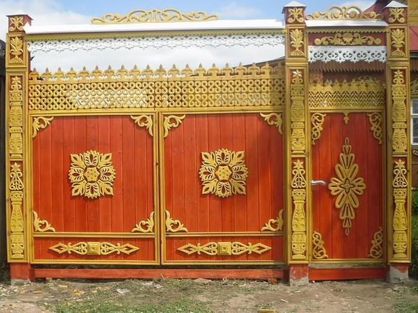 Ворота как произведение искусства