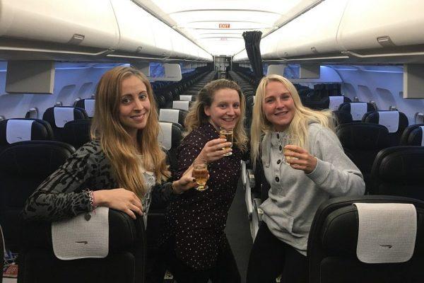 Одни в самолете Самолет, Бизнес-Класс, Везение, VIP, Длиннопост