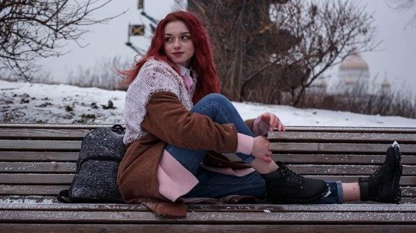 Очаровывает Красивая девушка, Фото, Рыжие, Длиннопост