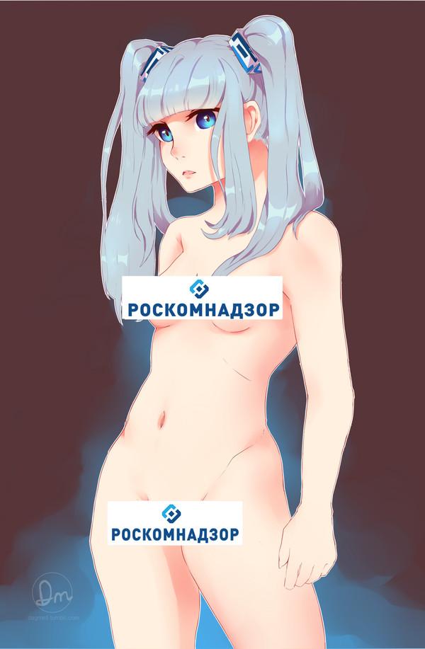 И ещё больше Роскомнадзор-тян Роскомнадзор-Тян, Аниме, Роскомнадзор, Длиннопост