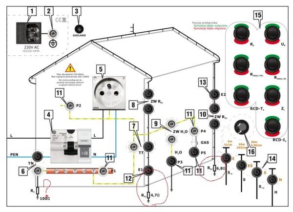 Помогите со схемой стенда... Стенд, Схема, Электроника, ПУЭ, Заземление, Электрика, Помощь, Молниезащита, Длиннопост
