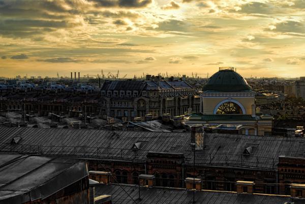 Крыши Петербурга. Санкт-Петербург, Крыша, Руферы