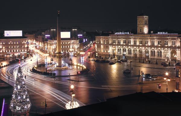 Новогодний Санкт-Петербург Санкт-Петербург, Нет снега, Россия, Вид, Фото, Фотография, Новый Год, Sigma
