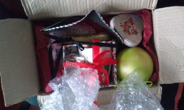 Мой подарок от Тайного Санты! 2017, Новый Год, Подарок, Тайный Санта, Обмен подарками, Длиннопост