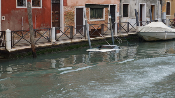Когда хотел подводную лодку, а хватило только на катер Венеция, Катер, Вода, Подводная лодка