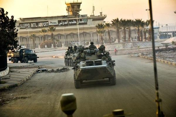 Российские саперы работают в Алеппо Армия, война, Сапер, алеппо, политика, сирия, длиннопост