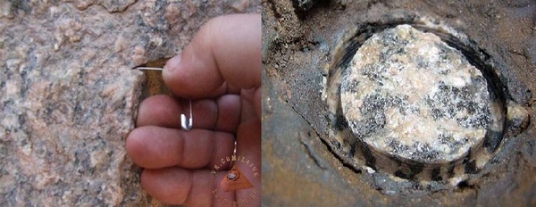 Обработка камня: следы древнего сверления. палеоконтакт, ЛАИ, сверление гранита, статья, история, наука, Обработка камня