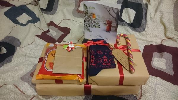 Подарок от тайного санты тайный санта, санта, обмен подарками, длиннопост
