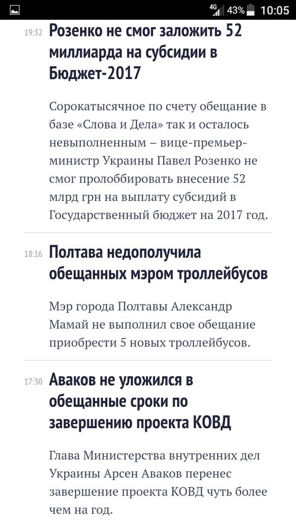 Не успел, не смог, не уложился в сроки, да и просто забыл! Украина, Политика, Пустые обещания, Шествие, Длиннопост