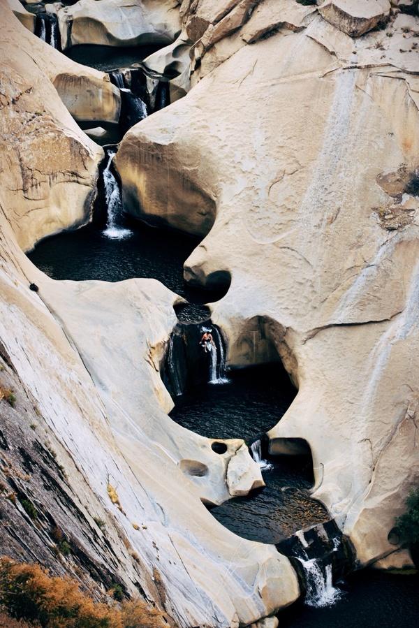 Через шесть водопадов и семь природных чаш верхом на дельфине Водопад, Чаша, Экстрим, Фото, Видео