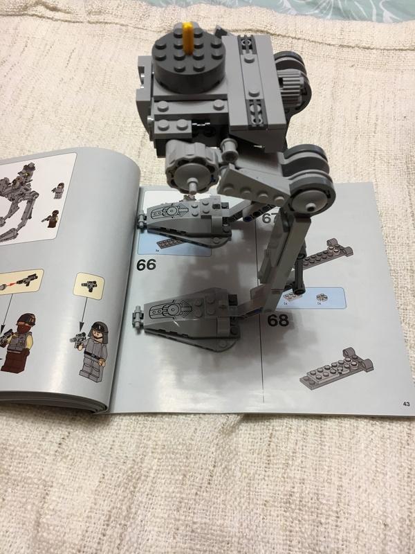 LEGO AT-ST lego, star wars, AT-ST, Изгой-Один, длиннопост