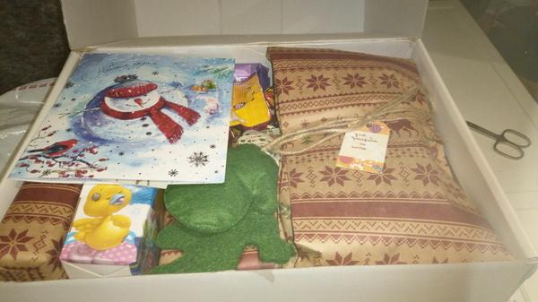 Олень привез подарок от Деда Мороза! Анонимные дед морозы, Обмен подарками, Длиннопост, Новый Год, Подарок, Тайный Санта