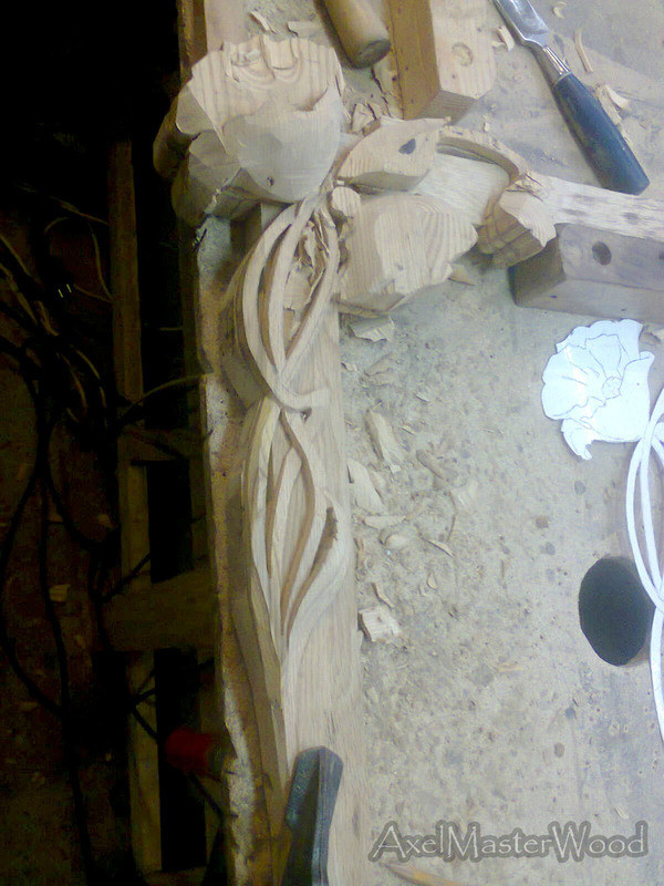 Резьбульки по дубу картина, рамка, багет, резьба по дереву, длиннопост