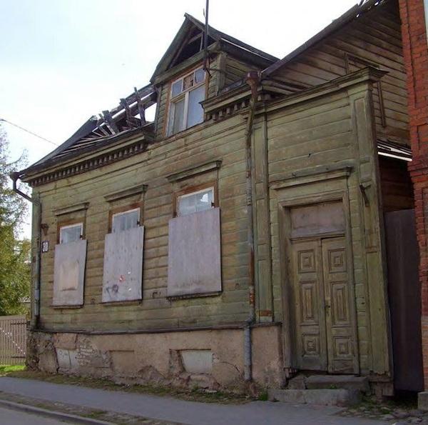 Когда есть деньги, и из какашки можно сделать конфетку дом, ремонт, помойка, Эстония, Тарту