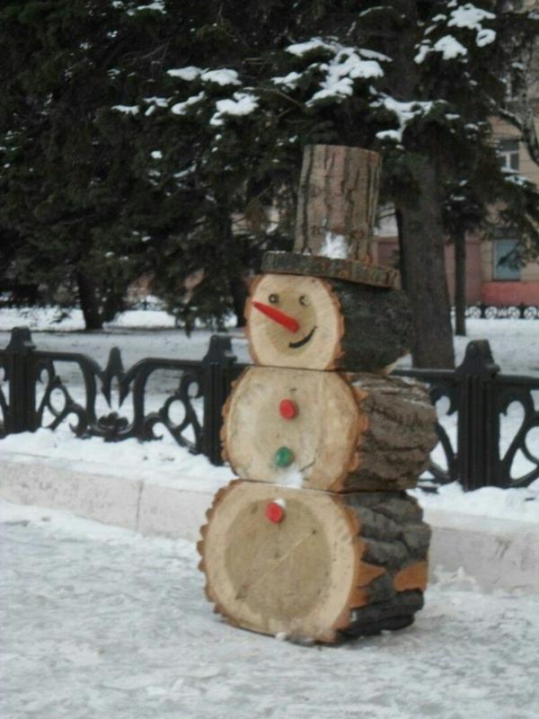 Калининградский Снеговик Снеговик, Калининград, Нет снега, Первый пост