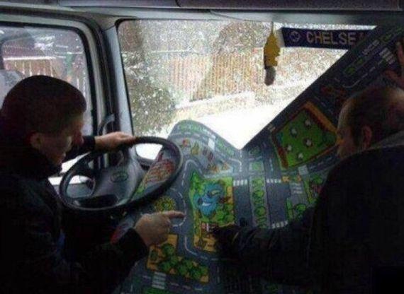 - Да я с детства по этой карте езжу!