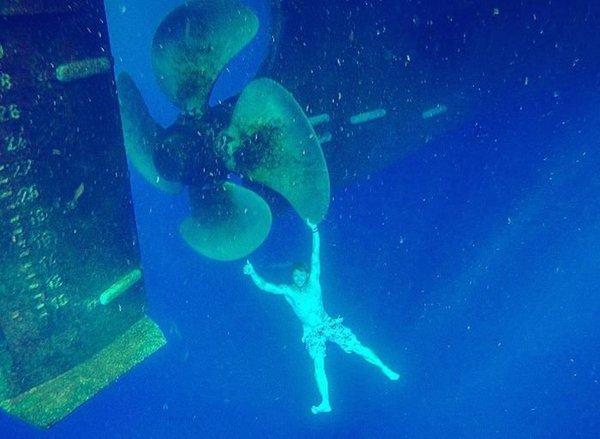 Подводный зацепер
