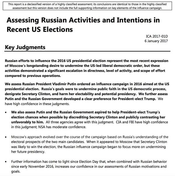 Спецслужбы США рассекретили доклад о кибератаках России во время выборов TJournal, Выборы США, Путин, Клинтон, троллинг, Политика