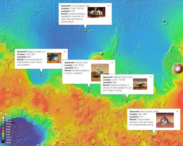 Как далеко от Curiosity до соседних марсоходов? NASA, Curiosity, Марсоход, Кьюриосити