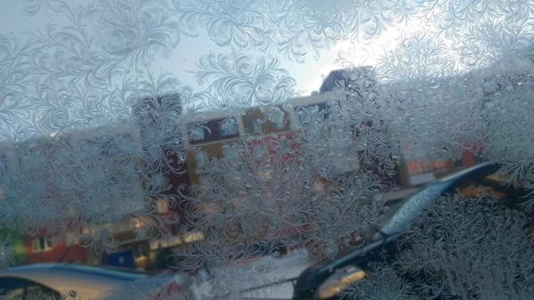 Мороз рисует мороз, рисунок на стекле, зима, красота, Искусство, Невероятно, длиннопост