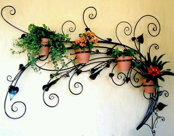 Настенная подставка для цветов подставка для цветов, Макаров и сыновья, ковка, сварка, Орхидеи, сталь, настенная подставка, ручная работа, длиннопост
