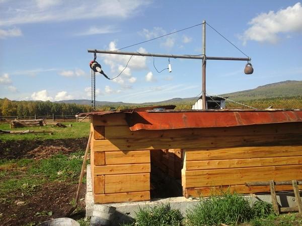 Строим в деревне 1 Строительство, баня, своими руками, длиннопост