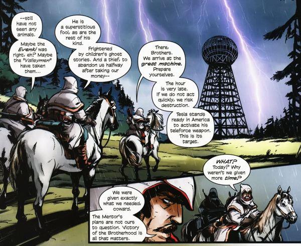 Сказ о Николае Орлове, ассасинушке русском Assassins creed, Кредо, Ubisoft, Обзор, Комиксы, Видео, Длиннопост