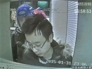 Попытка ограбления мужика у банкомата