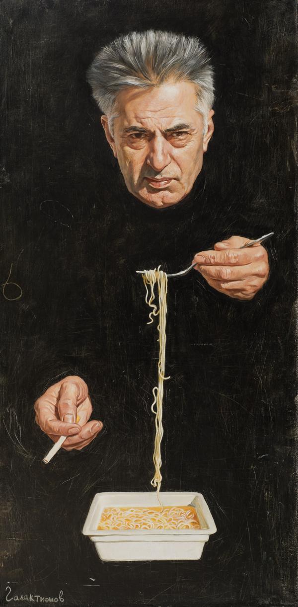 """Обед"" живопись, портрет, картина маслом, картина"