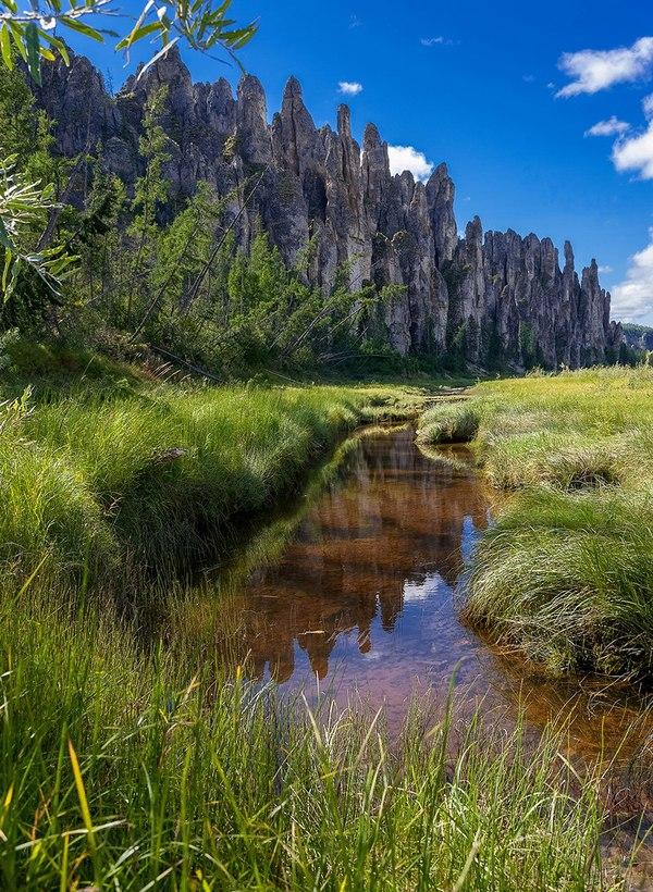 Река Синяя Река Синяя, Республика Саха, Якутия, надо съездить, Фото, Природа, пейзаж, Россия, длиннопост