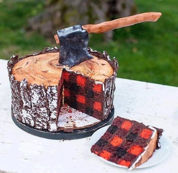 """Подозреваю, что торт называется """"Полено"""""""