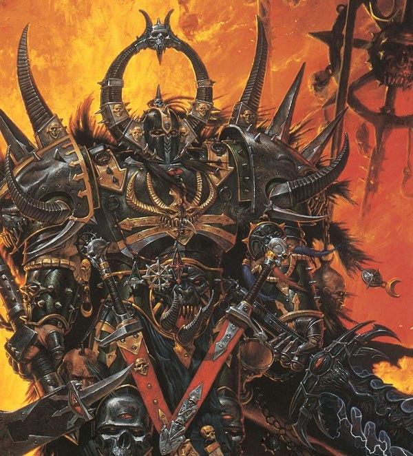 Среди воинов Хаоса есть настоящие герои. Точнее один герой. Канто Непоклявшийся. Warhammer fantasy battles, Warhammer: End Times, Хаос, Информация, Длиннопост, Warhammer