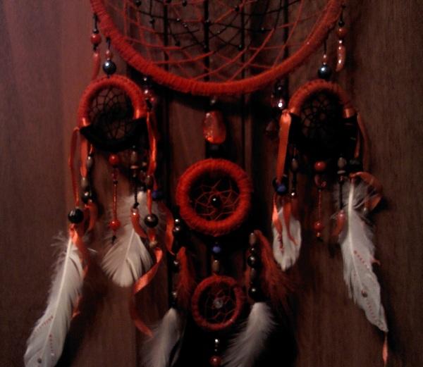 Ловец снов №4 Ловец снов, Своими руками, Подарок, Длиннопост