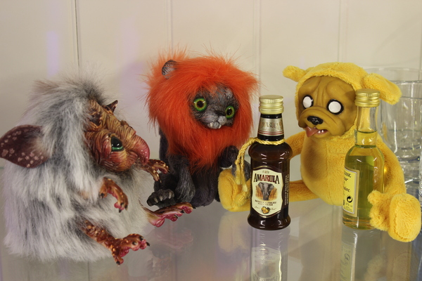 Как ребята Старый Новый Год отмечали авторская игрушка, adventure time, Новый Год, старый новый год, алкоголь, праздники, handmade, Львенок, длиннопост