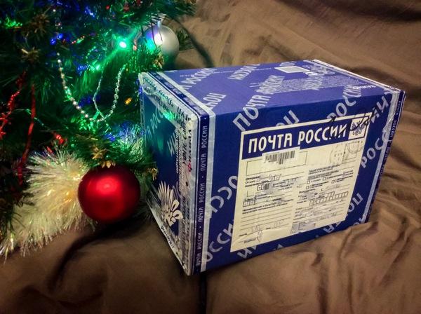 Мой подарок из Санкт-Петербурга НОП, обмен подарками, Почта России, длиннопост