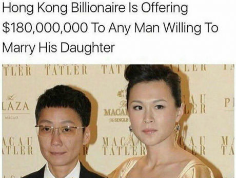 Подаю на развод, еду в гонконг... миллионер, китай, деньги, алчность, 9gag, перевод