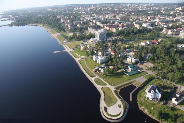 Птичьим взглядом на Петрозаводск лето, петрозаводск, фотография, город, птичий полет, длиннопост