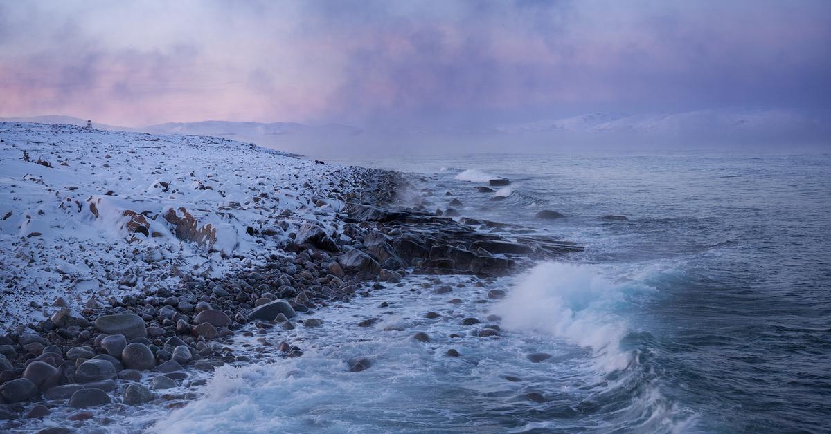 она баренцево море фото зимой тех аппаратов, особенностью