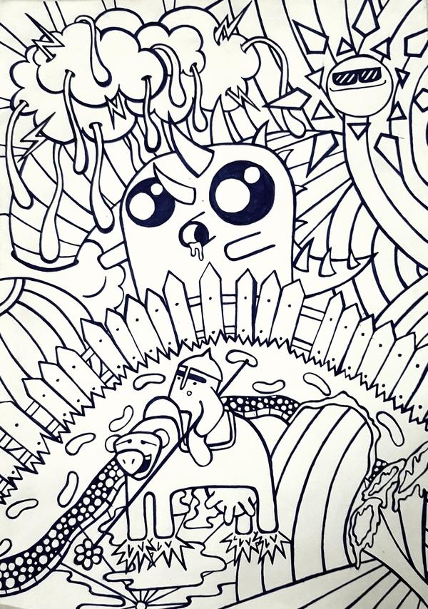 Doodle Дудл, Наркомания, Мутант
