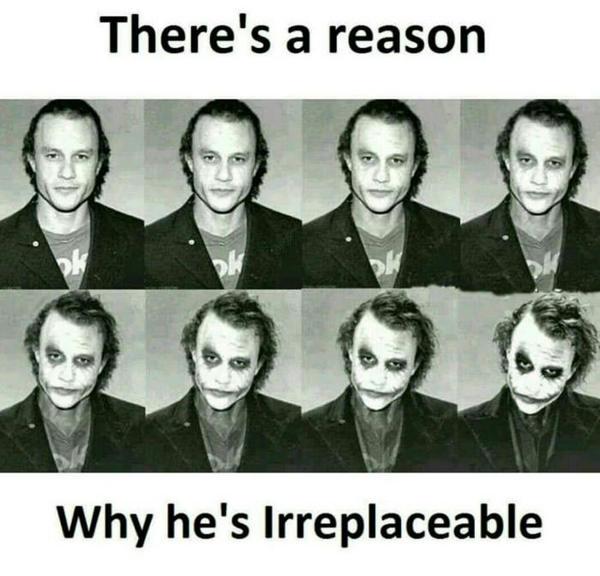 Действительно, весомая причина Джокер, Хит Леджер
