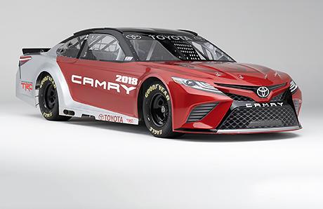 Новое поколение Camry превратили в гоночное купе Nascar, Toyota, Toyota camry, Машина