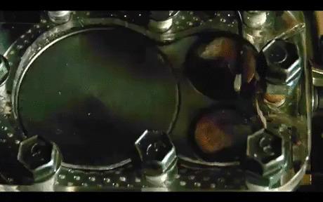 Прозрачная головка цилиндра