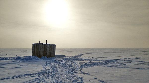 Прогулки во сне и наяву (название почти спёр, да-да) Зима, Пейзаж, Фото на тапок, Горизонт не предел