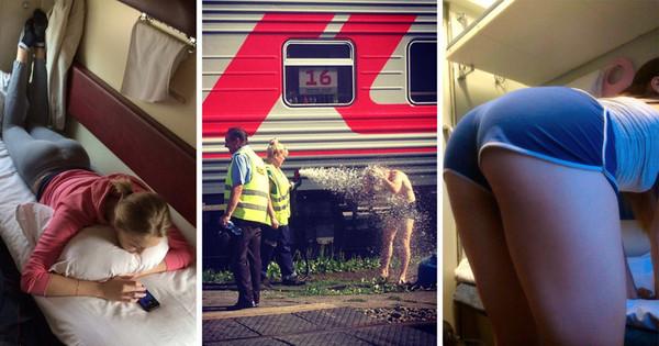 Про самолеты думаю хватит, давайте уже про поездатую жизнь Поезд, Поездатое, Железная Дорога, Железнодорожники, Истории, Плацкарт, Купе