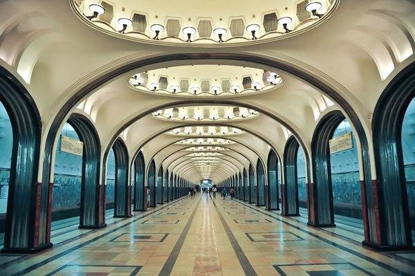 Секреты станции метро «Маяковская» Москва, Метро, Маяковская, Секрет, Архитектура, СССР, Сеть
