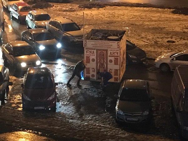 В догонку к работе службы 112. 112, Дпс, Длиннопост, Санкт-Петербург