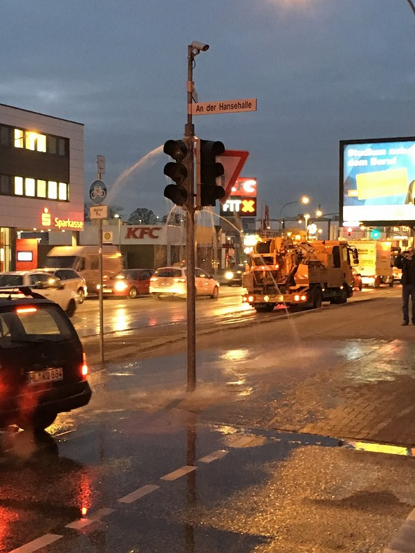 Гидрант или светофор? Светофор, Гидрант, Германия, Любек, Luebeck