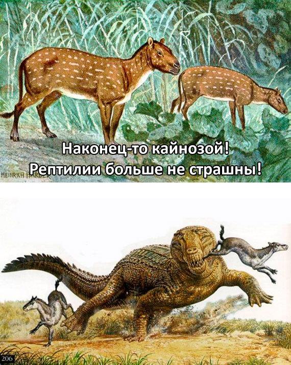 Палеоюмор Палеонтология, Юмор, Кайнозой