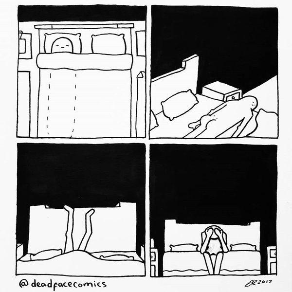 Когда всю ночь не можешь уснуть